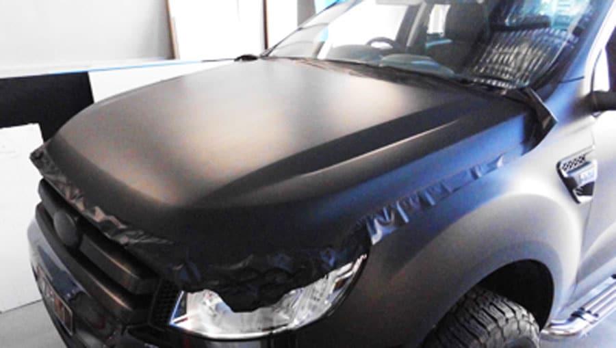 black car wrapping in sydney