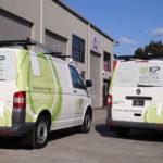 KP electric fleet branding