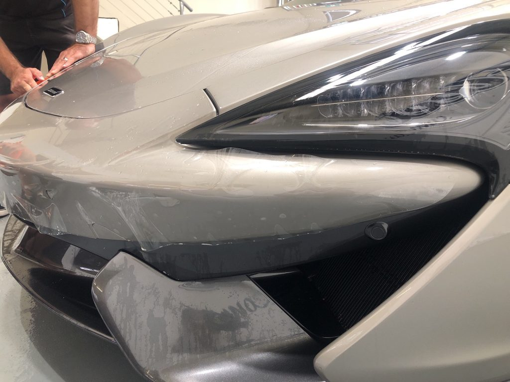 mclaren paint protection wrap