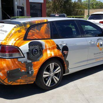 half car wrapping sydney