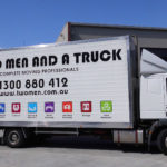 two men and a truck wrapping