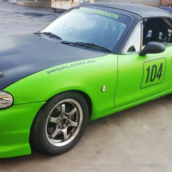 PPCPL car wrap