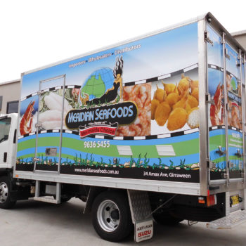 seafood food truck wraps