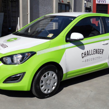 challenger security car wrapping sydney