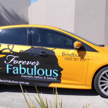 cosmetic tattoo car wraps
