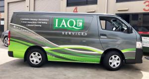 IAQ Services Hiace Wrap
