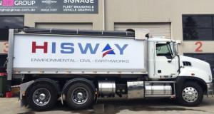 Hisway Truck Wrap
