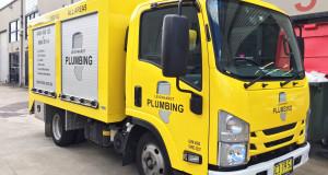 Leichardt Plumbing Truck Wrap
