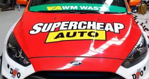 Race Car Signage