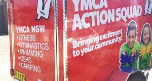 YMCA Signage Trailer Signage